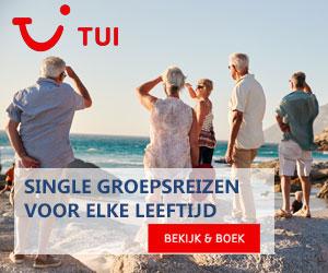 TUI single groepsreizen 50 plus