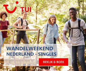 TUI wandelweekend singles